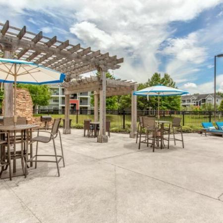 brightside apartment pool pavilion