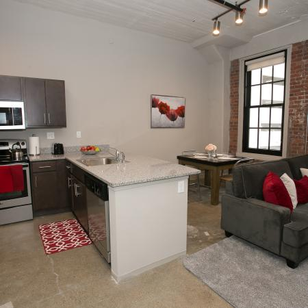 Spacious Living Room | Edge Union Station