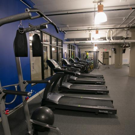 Resident Fitness Center | Edge Union Station