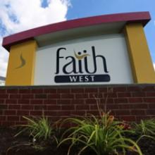 Faith West Sign