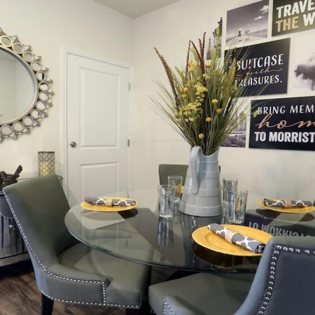 Separate Dining Area in Apartment Home | Modera 44
