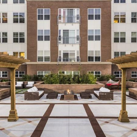 Modera Tempo | Alexandria, Virginia | Courtyard with firepit