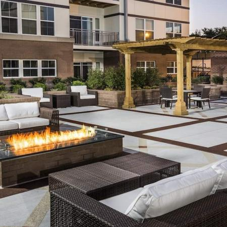 Modera Tempo | Alexandria, Virginia | Courtyard with fire pit
