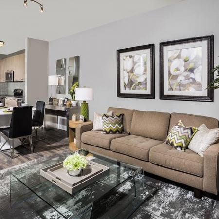 Spacious Living Areas at Modera Tempo | Alexandria, Virginia