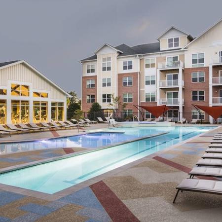 Resort-Inspired Pool and Sun Deck | Modera Westside