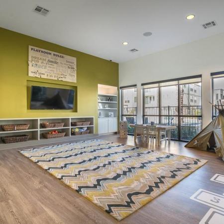 Kids Play Area Adjacent to Fitness Center | Modera Energy Corridor