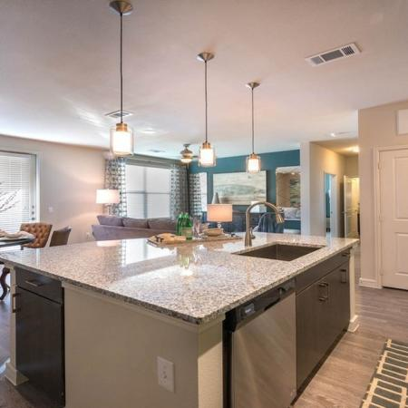 Chef's Island in our Spacious Kitchens | Modera Energy Corridor