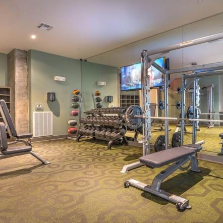 Cutting Edge Fitness Center | Apartments Homes for rent in Houston, TX | Modera Flats