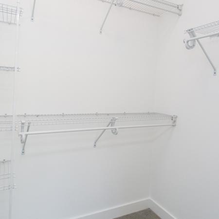 Shelving and Storage in Walk-In Closets | Modera Hopkinton