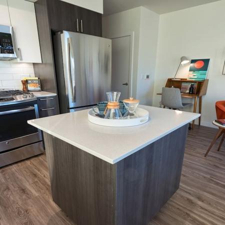 Wood Plank-Style Flooring | Modera South Lake Union