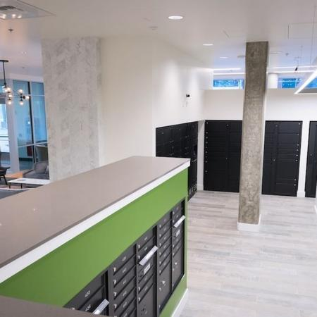 Mail Room and Package Lockers | Modera South Lake Union