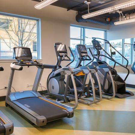 Treadmills, Elliptical and Stair Climbing Machines | Modera South Lake Union