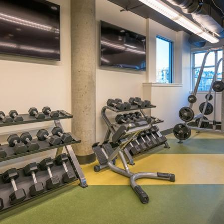 Free Weights and Weight Machines | Modera South Lake Union