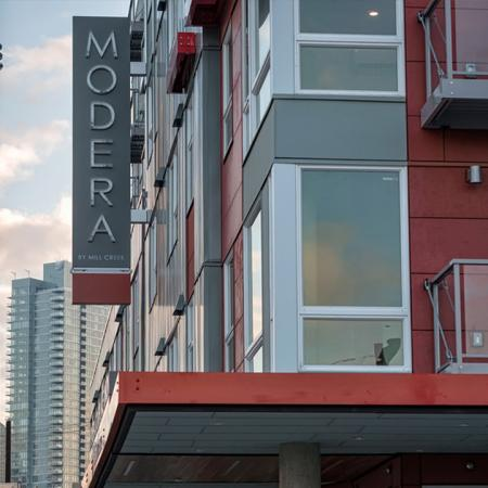 Private Balconies with City Views | Modera South Lake Union