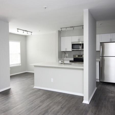 Open Layout with Kitchen and Separate Dining Area | Alister Columbia
