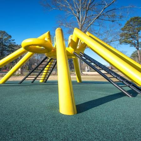 Climbing Structure at Abernathy Greenway Park | Modera Sandy Springs