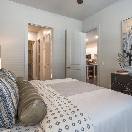 Master Bedroom with Spacious Ensuite | Modera Near the Galleria