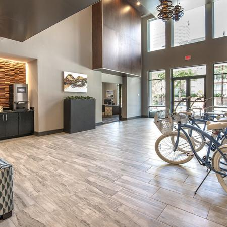 Modera Bikes for Resident Use | Modera Near the Galleria