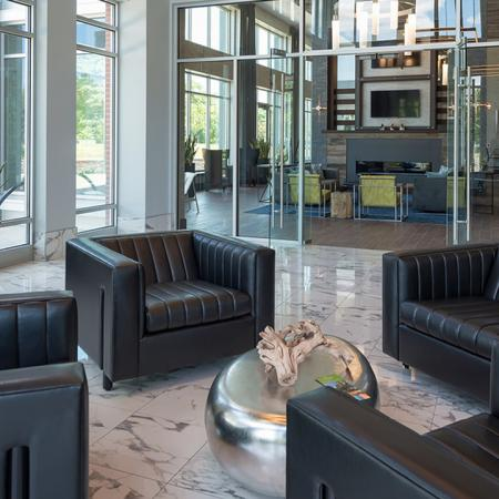 Clubhouse Lobby and Leasing Center | Modera Medford