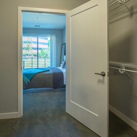 Walk-In Closets in Bedrooms | Modera Medford