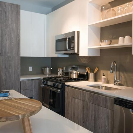 Stainless Appliances and Custom Cabinetry | Modera Medford