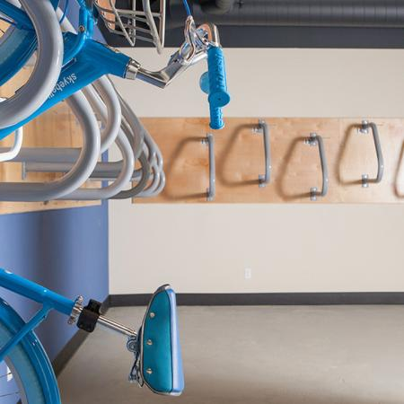 Dedicated Bike Storage Area | Skye at Belltown