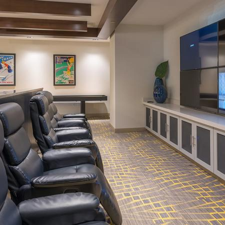 Catch a Movie in our Media Room | Modera Hopkinton