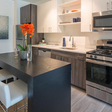 Modern Kitchens with Stainless Steel Appliances | Modera Hopkinton