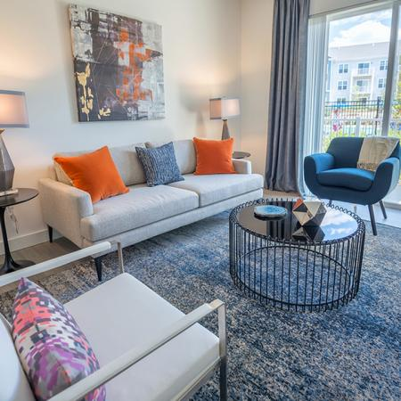 Spacious Living Spaces with Private Balconies | Modera Hopkinton