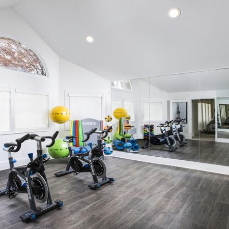 Cutting Edge Fitness Center | Studio Apartments in Columbia MD | Alister Town Center Columbia
