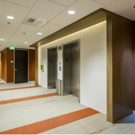 Spacious Hallway   One West Broadway