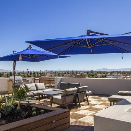 Resident Sun Deck | Apartments Downtown Tucson AZ | One East Broadway Corporate