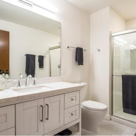 Ornate Bathroom | Apartment Community in Tucson | Two East Congress