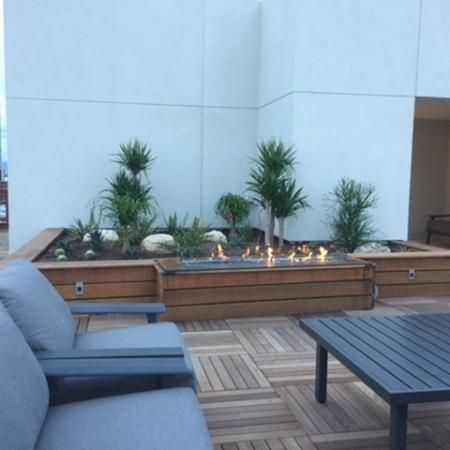 Outdoor Fire Pit | Apartment Community in Tucson | Two East Congress