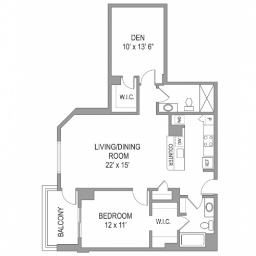 1 Bedroom Arlington Virginia Apartments | Birchwood