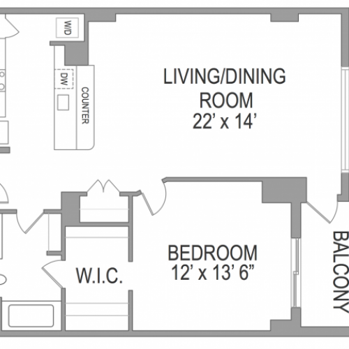 1 Bedroom Arlington Virginia Apartments | Birchwood 3