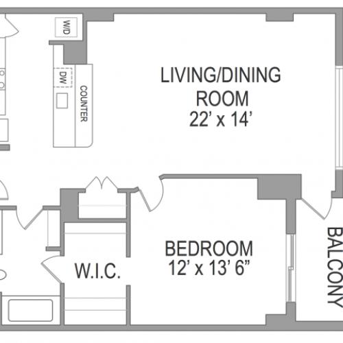 1 Bedroom Arlington Virginia Apartments | Birchwood 3