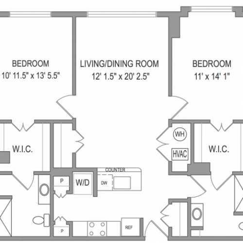 2 Bedroom Apartments in Arlington VA | Henderson Park 1