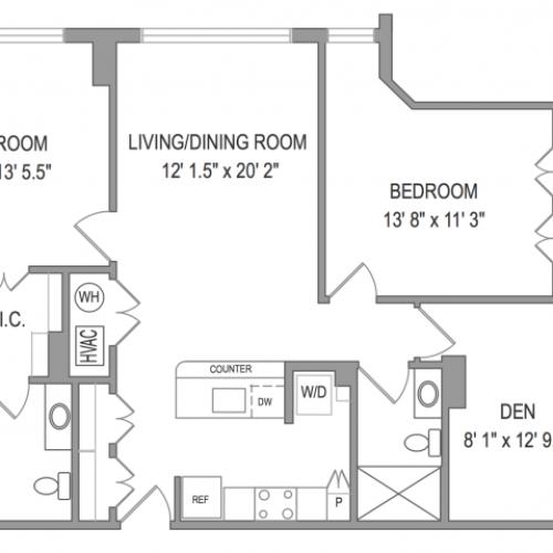 3 Bedroom Apartments in Arlington VA | Henderson Park 3