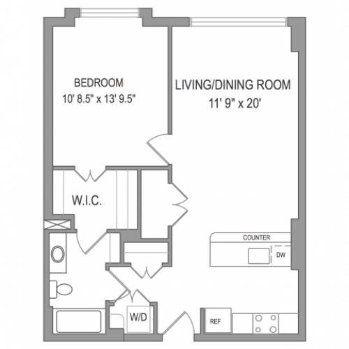 1 Bedroom Apartments in Arlington VA | Henderson Park
