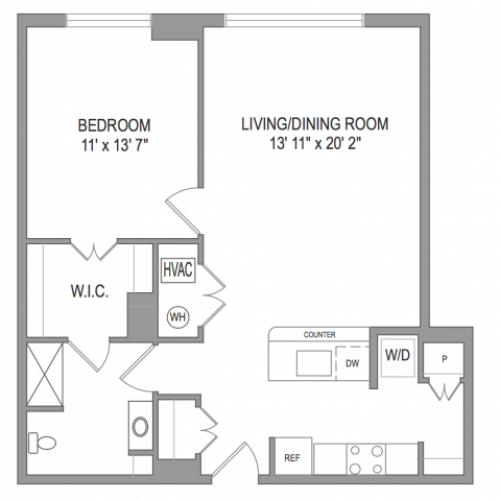 Arlington Apartments | Thomas Court | Floorplan 5
