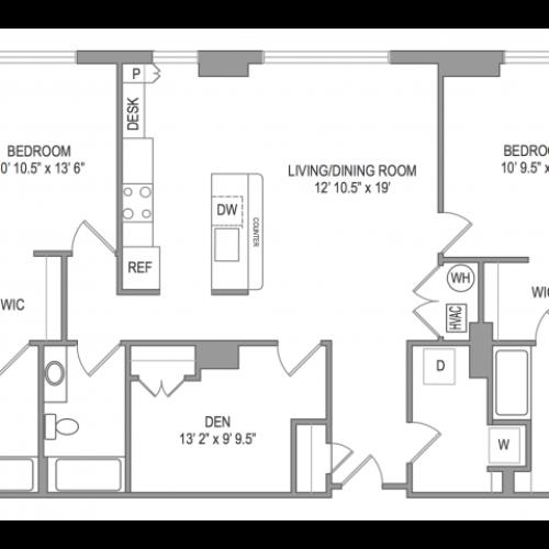 3 Bedroom Apts in Arlington, VA | Thomas Place 4