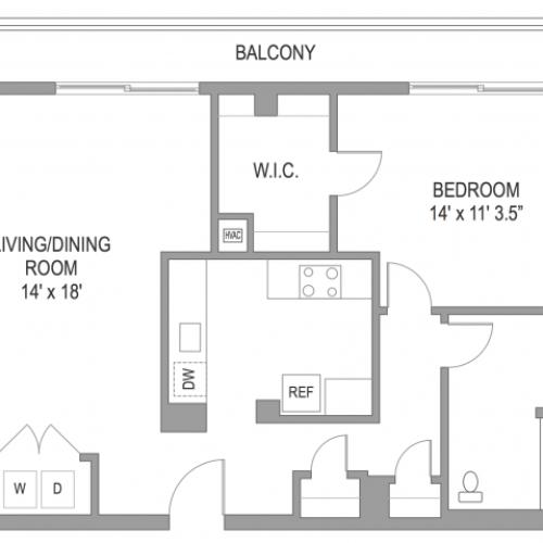 1 Bedroom Apts in Arlington VA | Wildwood Towers