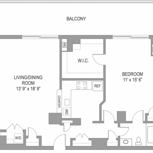 1 Bedroom Apts in Arlington VA | Wildwood Towers 2