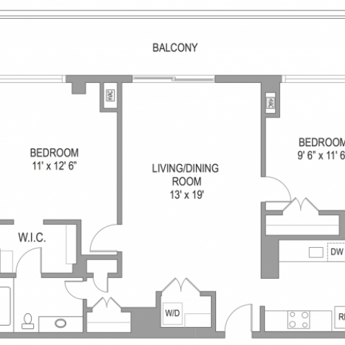 2 Bedroom Apts in Arlington VA | Wildwood Towers 5