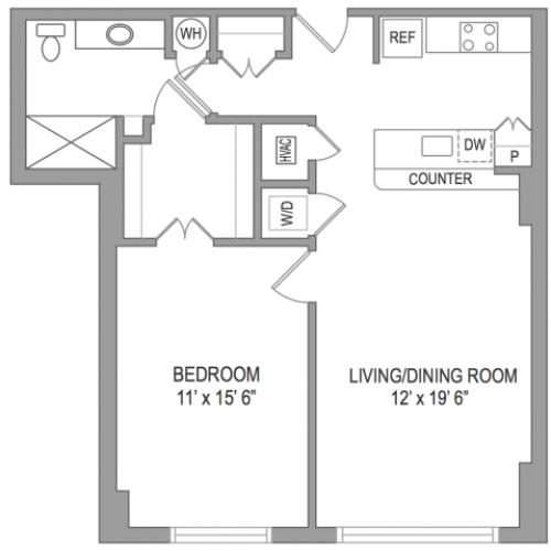 1 Bedroom Arlington Virginia Apartments | Birchwood 2