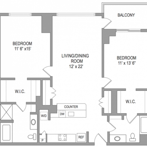 2 Bedroom Arlington Virginia Apartments | Birchwood 3
