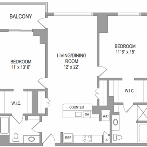 2 Bedroom Arlington Virginia Apartments | Birchwood 4