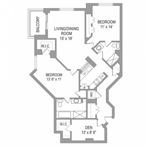 2 Bedroom Arlington Virginia Apartments | Birchwood 5